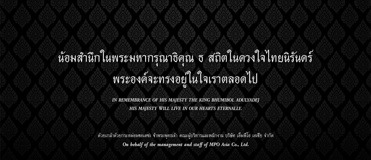 Remembrance King Rama9